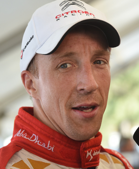 Rallying cry: Kris Meeke will be hoping for a podium finish