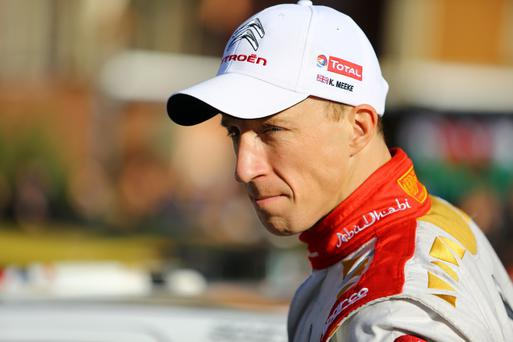 Up in the air: Kris Meeke's future at Citroen is unclear