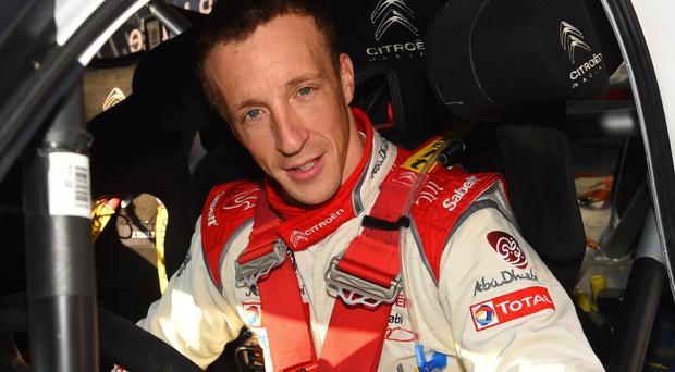 Early benchmark: Kris Meeke was fastest in the shakedown
