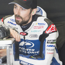 Determined: Eugene Laverty fought back for 12th place