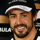 Not fit: Fernando Alonso has been ruled out of this weekend's Bahrain Grand Prix
