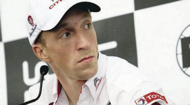 Kris Meeke was fourth fastest on the shakedown stage ahead of the Rally of Portugal