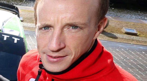 Revved up: Kris Meeke is hungry to get on the road