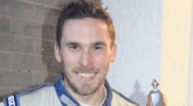 Triumph: Alan Davidson is the new NI Formula Ford champion