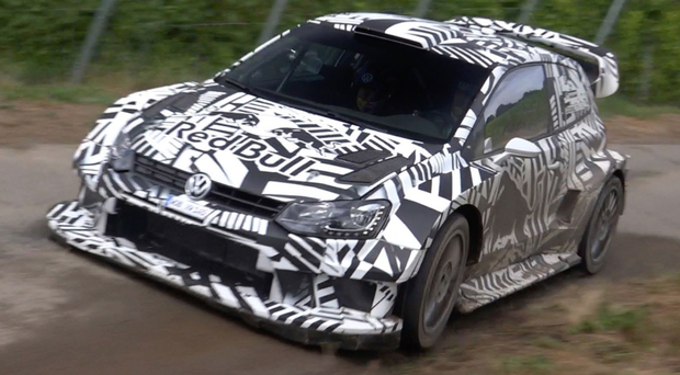 Phantom Polo: Volkswagen's new Polo R, pictured in its camouflage test livery, is the multi-million pound rally car that may never grace a World Championship rally stage with the manufacturer set to pull out