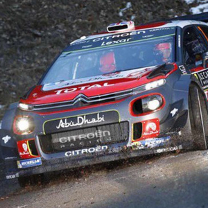Tough weekend: Kris Meeke, pictured in preparation in France, believes the testing weather conditions will have a huge role to play in the Monte Carlo Rally