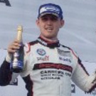 Top step: Charlie Eastwood leads the Porsche Carrera Cup standings