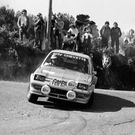 Then and now: Pentti Airikkala in action at the Circuit of Ireland