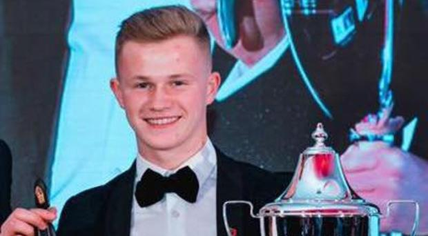Just champion: Daniel Harper gets his hands on the Porsche GB Cup but looks to be heading in a new direction