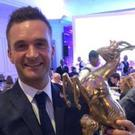 Top man: Colin Turkington could lift NI Motorsport prize