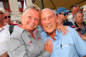 Stirling Moss with his wife Susie