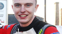 Prize winner: Josh McErlean is the Young Driver of the Year
