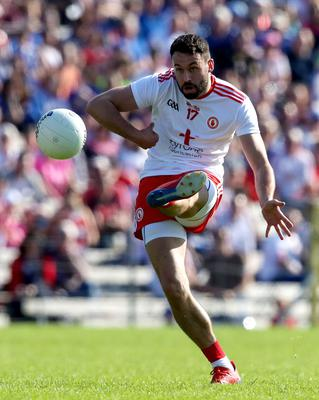 End game: Sharpshooter Kyle Coney has brought the curtain down on his Tyrone career