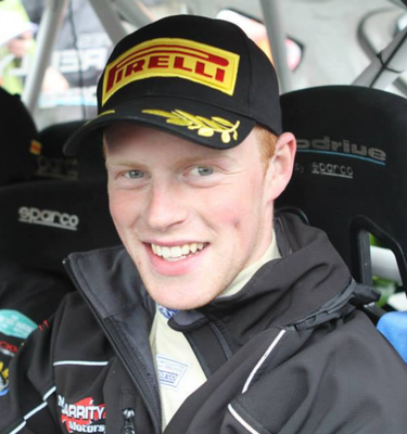 Sam Moffett is heading to the Barum Rally in the Czech Republic
