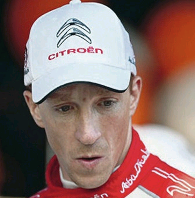 Kris Meeke has his first drive in Mexico tonight