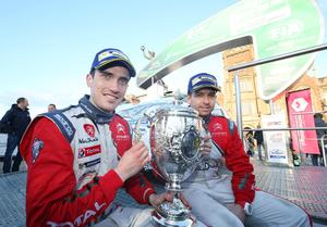 Busy boy: Craig Breen will combine European rallies with some WRC outings
