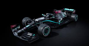 New look: a Mercedes with all-black base livery