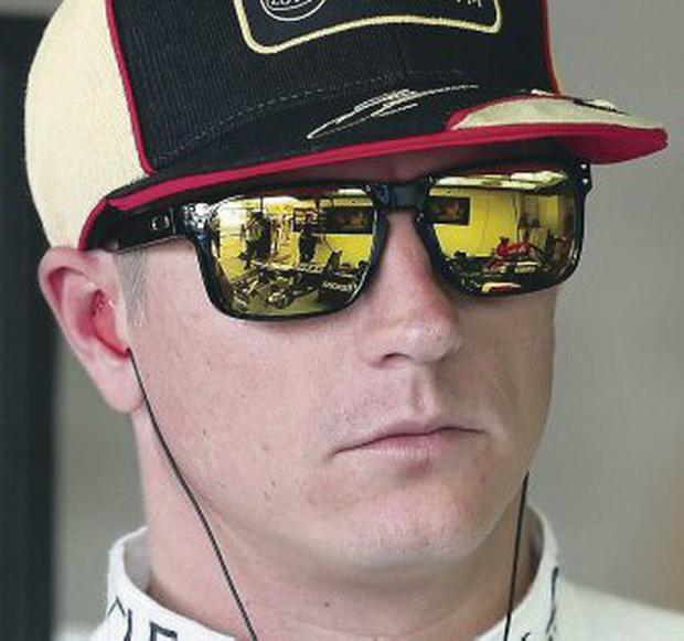 Returning hero: Kimi Raikkonen is delighted to be back at Ferrari