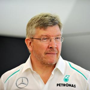 Ross Brawn during his time with Formula One team Mercedes