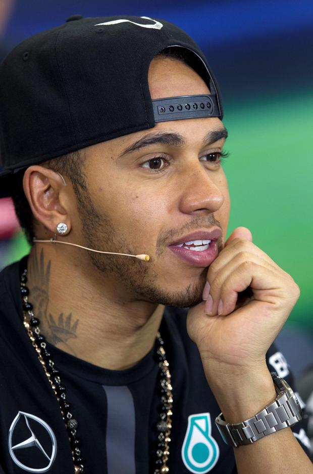 Call for change: Lewis Hamilton