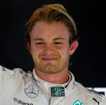 Fired up: Nico Rosberg is eager