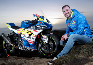 Team leader: Paul Jordan with his new RK Racing Burrows Suzuki