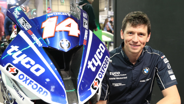 High spirits: Dan Kneen wants some success at the Triangle after enduring a raft of problems at the event in the past