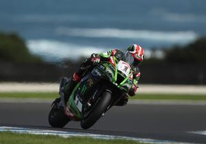 Need for speed: Jonathan Rea set the second fastest time during practice at Jerez