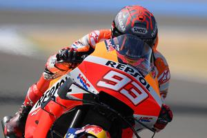 Season over: Marc Marquez will have surgery today