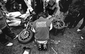 Master at work: Joey deep in concentration in Tandragee