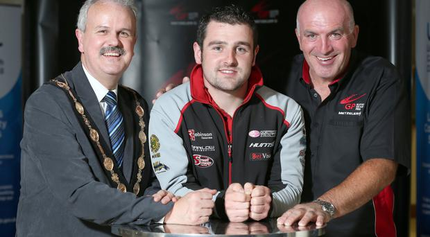 Top man: Michael Dunlop
