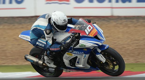 Looking ahead: Josh Elliott wants to test himself in the British Superbike series after clinching the British Superstock 1000cc title