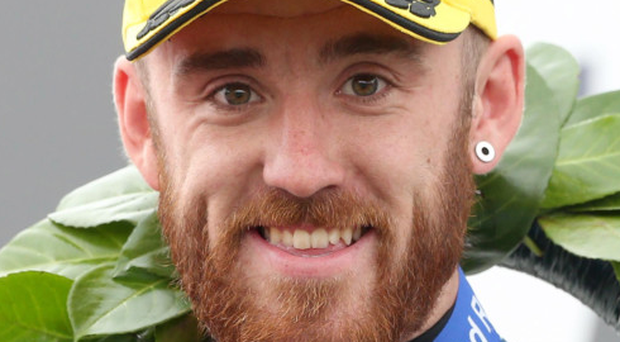 Sitting tight: Lee Johnston is staying with his racing team