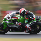 PHILLIP ISLAND, AUSTRALIA - FEBRUARY 22: Jonathan Rea of Great Britain rides the #65 Kawasaki Racing Team Kawasaki ZX-10R during the World Superbikes World Championship Australian Round at Phillip Island Grand Prix Circuit on February 22, 2015 in Phillip Island, Australia. (Photo by Robert Cianflone/Getty Images)