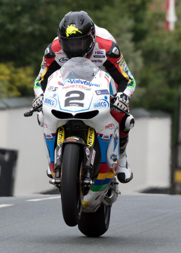 Fastest man: Bruce Anstey will try to beat his own lap record at the Ulster Grand Prix in August