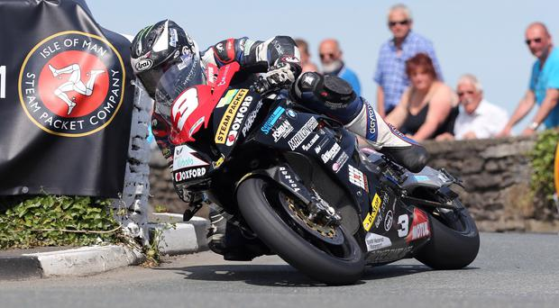 King of the road: Michael Dunlop is going for glory at Armoy at the weekend ahead of his tilt at the Ulster Grand Prix