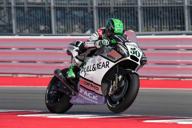 Scoring streak: Eugene Laverty on his way to 14th place in Italy as he continues the push for a top 10 spot overall