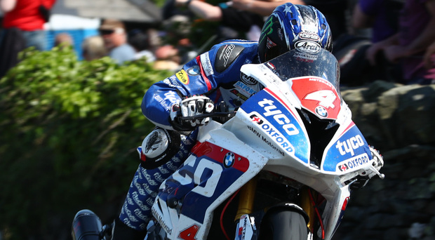 Hot Hutch: Speed king Ian Hutchinson (pictured) will be back on Tyco machinery for Hector Neill in 2017