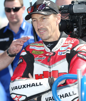 Top gear: Jeremy McWilliams