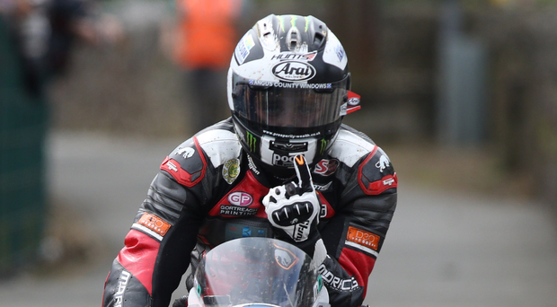 Ready for battle: Michael Dunlop will be out to build on his Supersport victory earlier this week. Photo: Stephen Davison