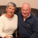 In hotseat: Mervyn Whyte with wife Hazel