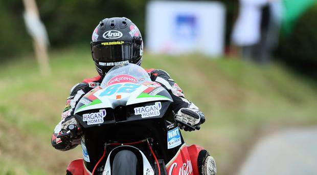 Aiming high: Derek Sheils has sights set on Isle of Man TT glory