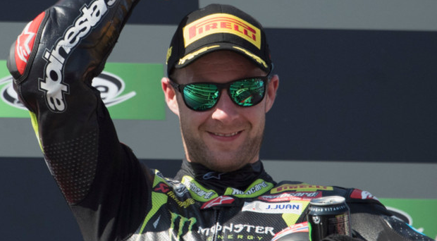 Unstoppable: Jonathan Rea completed a double weekend success in Argentina