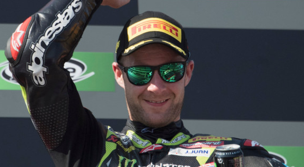 Unstoppable: Four-time world champion Jonathan Rea