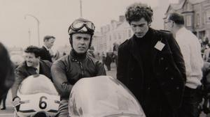Tommy Robb at the North West 200 in the 1960s