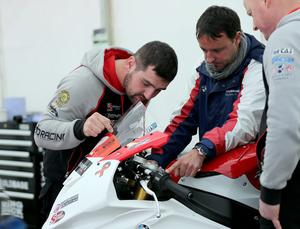Softer side: Michael Dunlop leading fund-raising campaign
