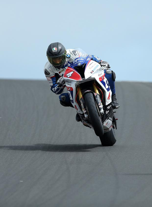 Hot wheels: Guy Martin isn't ready to lose the buzz of racing at events like the North West 200