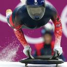 Going for gold: Britain's Lizzy Yarnold is favourite in the skeleton
