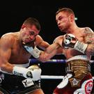 Boxing clever: Carl Frampton has had a swipe at the decision to let professionals box in the Olympics