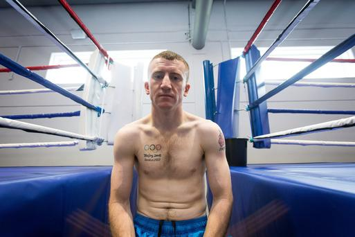 All business: Paddy Barnes begins his quest for Olympic gold today